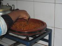Kafta aux lentilles et boulettes de viande